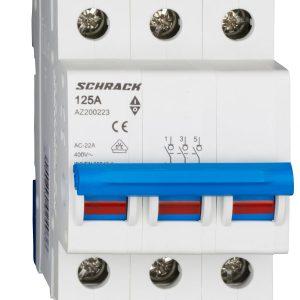 Comutator principal modular 125A 3-poli