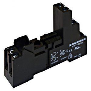 Soclu cu şurub, în execuţie logică, pini 5mm, pt. şină DIN RT.