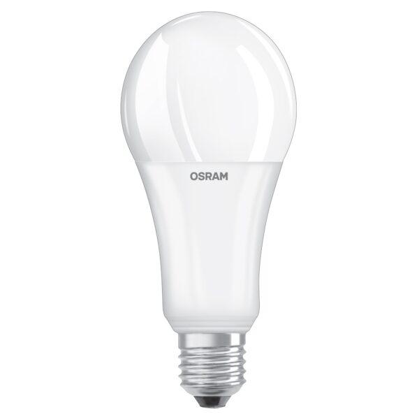 Bec LED Osram clasic mat A150 E27 20W lumina calda
