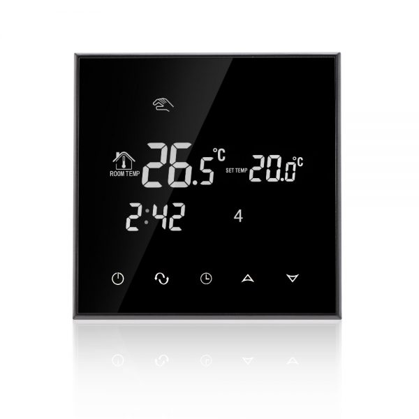 termostat inteligent wifi digital incalzire pardoseala 2 senzori