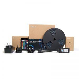 Banda LED inteligenta Sonoff L1, lungime 2m, WiFi si telecomanda IR